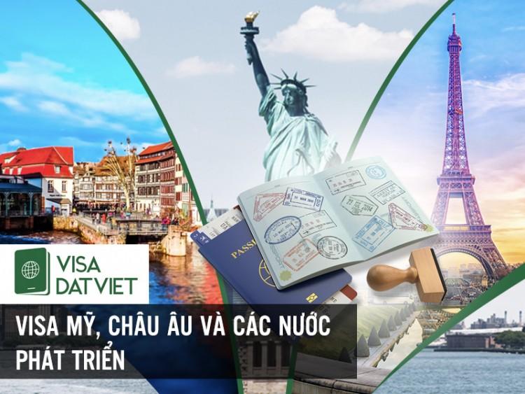 Mẹo Xin Visa Vào Mỹ, Châu Âu Và Các Nước Phát Triển